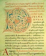 Codex Laureshamensis Initial-D
