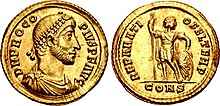 Coin of Procopius (usurper) minted in Constantinople.jpg