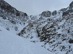 2009 Buachaille Etive Mòr avalanche - Image: Coire na Tulaich, Buachaille Etive Mor geograph.org.uk 86415