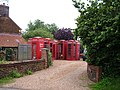 Collection of telephone boxes - geograph.org.uk - 466848.jpg