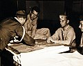 Colonel Wensinger receives Japanese surrender in Sasebo, Japan 1945.jpg