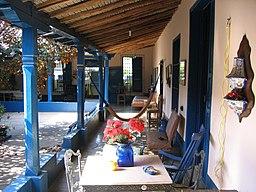 Interior de casa colonial, Aragua de Barcelona