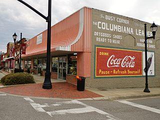 Columbiana, Alabama City in Alabama, United States
