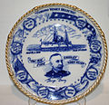 Commemorative plate from the Spanish American War honoring Admiral George Dewey.jpg