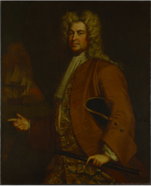 Siege of Annapolis Royal (1744) - Commodor Edward Tyng by Joseph Blackburn