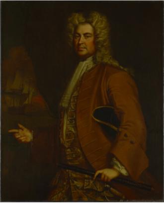 Siege of Annapolis Royal (1744) - Commodor Edward Tyng by Joseph Blackburn