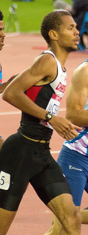 Brandon McBride - McBride at the 2014 Commonwealth Games