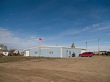 Community Building in Ross, North Dakota 10-18-2008.jpg