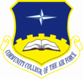 Community College of the Air Force Shield (Color).png