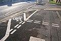 Complex Cycle Lane Markings - geograph.org.uk - 1176532.jpg