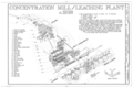 Concentration Mill-Leaching Plant c. 1938 - Kennecott Copper Corporation, On Copper River and Northwestern Railroad, Kennicott, Valdez-Cordova Census Area, AK HAER AK,20-MCAR,1- (sheet 5 of 15).png