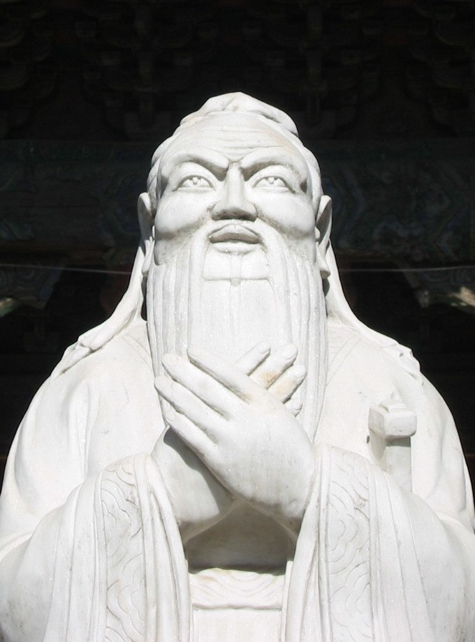 Confucius statue in beijing (cropped2)