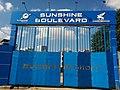 Construction site entrance in Hanoi - Sunshine Group - Sunshine Boulevard.jpg