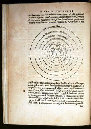 Copernican Revolution - Nicolaus Copernicus's heliocentric model