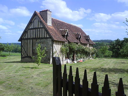 Corday's birth house in Normandy Corday maison.JPG