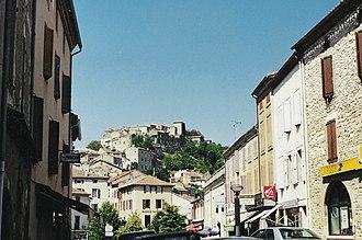 Cordes-sur-Ciel - A view within Cordes-sur-Ciel