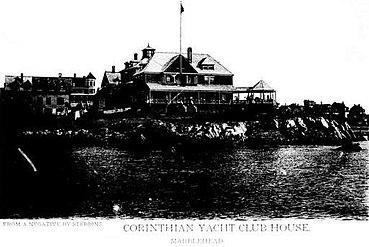 Corinthian Yacht Club House Marblehead c 1894