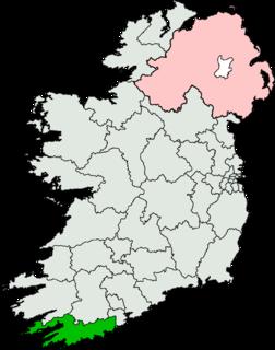 Cork South-West (Dáil constituency) Dáil Éireann constituency (1961-)