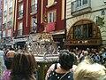 Corpus 2014 en Burgos, carroza de plata y custodia.jpg