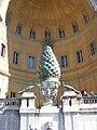 Cortile della Pigna pine cone 3.jpg