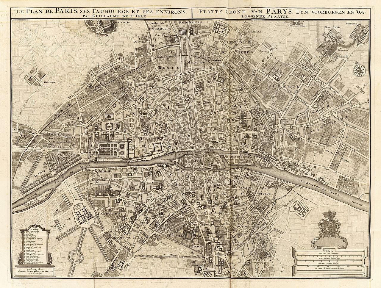 file covens et mortier le plan de paris ses faubourgs et ses environs 1742 david. Black Bedroom Furniture Sets. Home Design Ideas