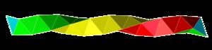 Boerdijk–Coxeter helix - Image: Coxeter helix 3 colors cw