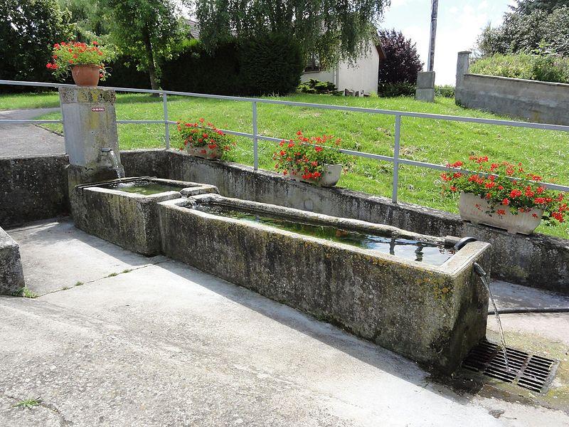 Coyviller (M-et-M) fontaine