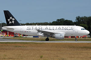 Croatia Airlines - Croatia Airlines Airbus A319-100 wearing the Star Alliance livery