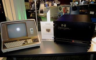 Cromemco Z-2 - Cromenco Z-2 CPU unit and terminal
