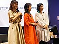 Cuisine Dimension voice actresses standing on the stage 20190414d.jpg