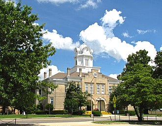 Crossville, Tennessee - Cumberland County Courthouse in Crossville