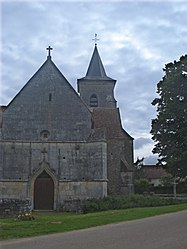 The church in Cuncy-lès-Varzy