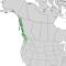 Cupressus nootkatensis range map 2.png
