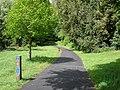 Cyclepath in Holywells park - geograph.org.uk - 1305639.jpg