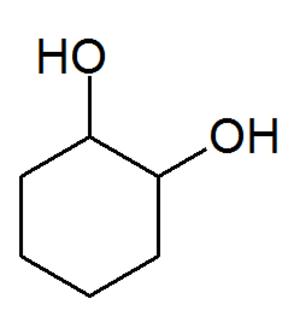 Cyclohexane-1,2-diol - Image: Cyclohexane 1,2 diol