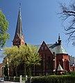 Częstochowa kościół ewangelicko-augsburski Wniebowstąpienia Pańskiego 28.04.2012 p2.jpg