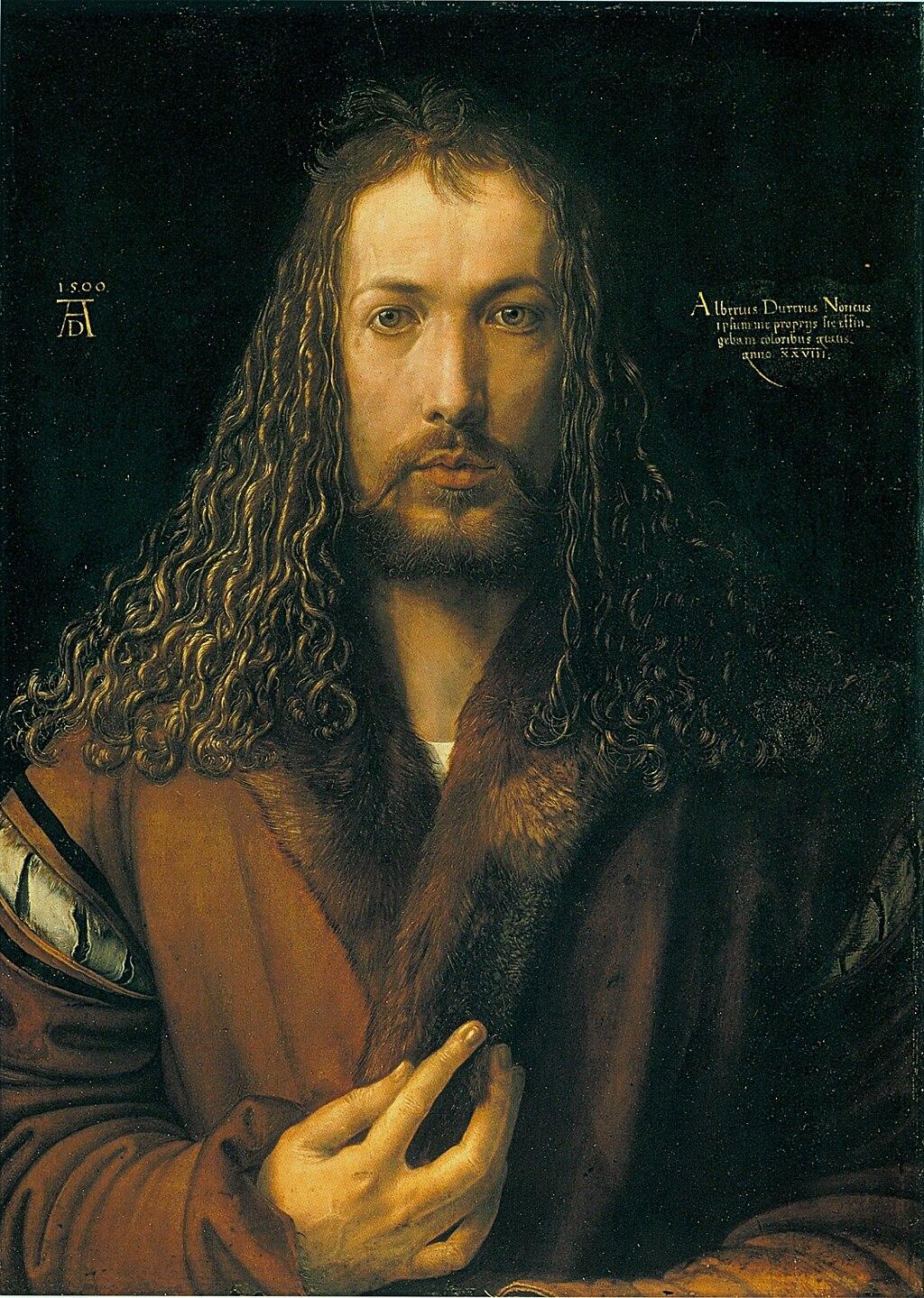 Dürer - Selbstbildnis im Pelzrock - Alte Pinakothek