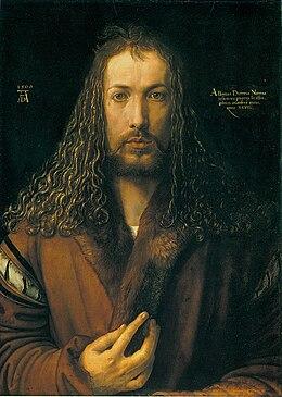 Dürer - Selbstbildnis im Pelzrock - Alte Pinakothek.jpg