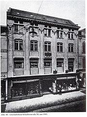 Düsseldorf, Geschäftshaus Schadowstraße 30, Mendelssohn-Haus, um 1905 (Peter Hüttenberger - Die Industrie- und Verwaltungsstadt (20. Jahrhundert) Düsseldorf. Band 3. Schwann, Düsseldorf 1990)