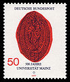 DBP 1977 938 Universität Mainz.jpg