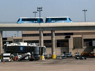 Bombardier Innovia APM - DFW Skylink at Dallas/Fort Worth International Airport