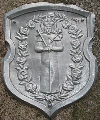 Ruzhany - Former Coat of Arms depicting St. Casimir