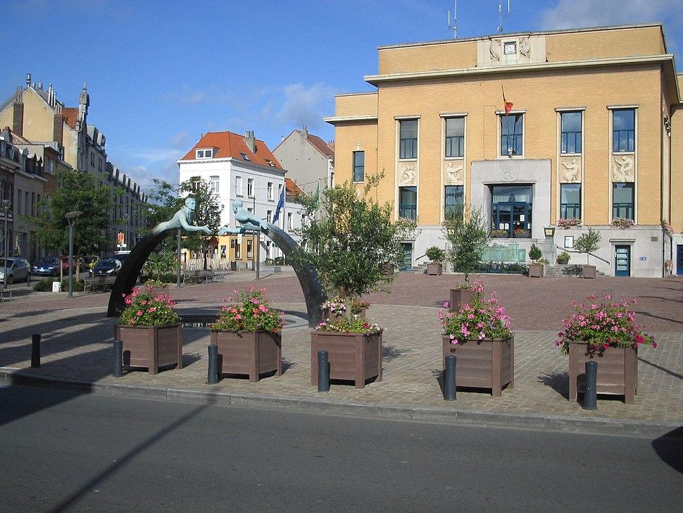 DSP.Maison communale.Koekelberg