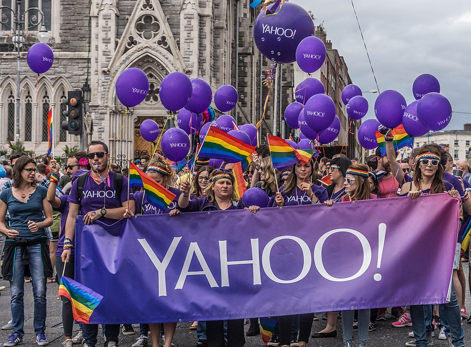 DUBLIN PRIDE 2015 ( YAHOO! WERE THERE - WERE YOU?)-106289 (19257385102)