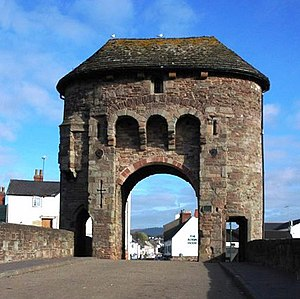 Monmouth Heritage Trail - Monnow Bridge