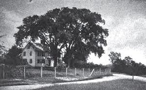 Daddy Frye's Hill Cemetery - Daddy Frye's Tavern c.1900