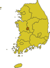 Daejeon map.png