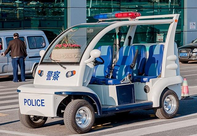 Police car Photo by CEphoto, Uwe Aranas