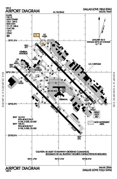 File Dallas Love Field Airport Diagram Pdf