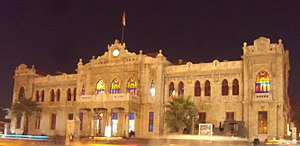 Hejaz Railway Station - Night view in 2009